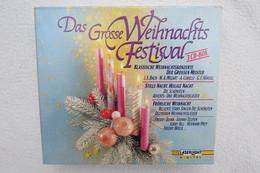 """3 CD-Box """"Das Grosse Weihnachtsfestival"""" Klassische Weihnachtskonzerte Der Grosssen Meister - Weihnachtslieder"""