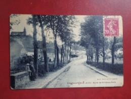 CPA 78 CHATEAUFORT ROUTE DE BORDEAUX PARIS - Autres Communes