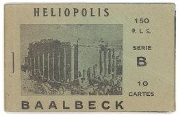 Carnet 10 Cpa Baalbeck / Heliopolis, Liban - - Libanon
