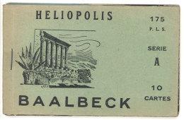 Carnet 10 Cpa Baalbeck / Heliopolis, Liban