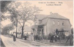 Gruss Aus NEU ZITTAU BURIG Gosen Spreenhagen Landhaus Elisabeth Belebt 14.5.1913 Gelaufen - Spreenhagen