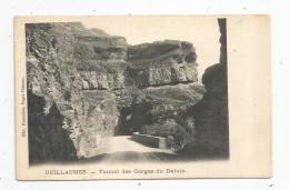 Cp , 06 , GUILLAUMES , Tunnel Des Gorges Du DALUIS , Voyagée 1904 - France