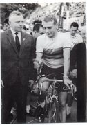 CYCLISME  TOUR DE FRANCE  RUDI ALTIG   CIRCUIT DE LAULNE  1960 - Cyclisme