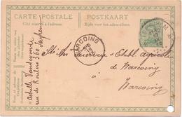 Briefkaart Carte Postale - Pub Reclame - Achille Vandevoorde - Izegem à Warcoing - 1919 - Postkaarten [1909-34]