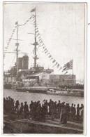 WLADIWOSTOK Russia Harbour Japanese Battleship Cruiser MYKASA 24.3.1922 Gelaufen To STOCKTON To Anvers - Guerre
