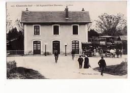 Saint Aignan Les Marais : La Gare / Editions Braun N°1495 - Other Municipalities