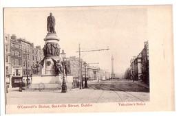 DUBLIN: O'Connell's Statue, Sackville Street - Dublin