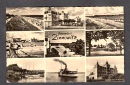 1962 OSTSEEBAD ZINNOWITZ FP V SEE 2 SCANS DDR - Zinnowitz