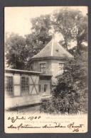 1904 GÖTTINGEN BISMARCKHÄUSCHEN AM WALL FP V SEE 2 SCANS - Goettingen