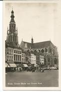 BREDA;  GROOTE MARKT MET GROOTE KERK - Breda