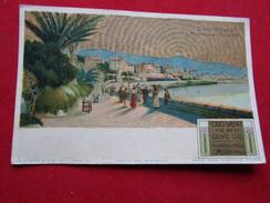 Italie - San Remo - Riviera Di Ponente Avec Publicité à Olio Sasso - San Remo