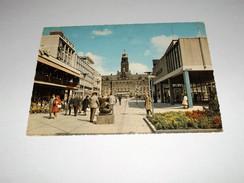 Ansichtskarte -3011-8-Holland -Rotterdam-Stadthuisplein--gelaufen - Niederlande