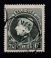 BELGIUM, 1929, Used Stamp(s), Albert I,  MI 262=265,  #10297, 1 Value Only - Postzegels