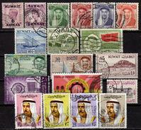 KUWAIT 1923-1970 - Lot 19 Verschiedene Used - Kuwait