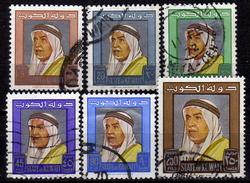 KUWAIT 1964 - MiNr: 215-233 Lot 6 Verschiedene Used - Kuwait