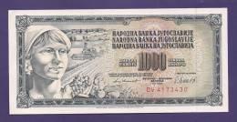 YUGOSLAVIA 1981,  Banknote , UNC, 1.000 Dinara, Km 92 - Yugoslavia