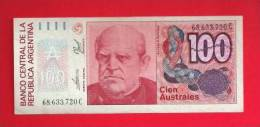 ARGENTINA 1985,   Banknote,  Mint UNC. . 100  Australes,  KM Nr. 327 - Argentinië