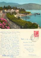 Baveno,  Lago Maggiore, VB Verbano, Italy Postcard Posted 1956 Stamp - Verbania