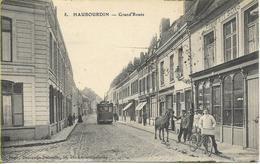 HAUBOURDIN  Grand'route  (tramway, Animation Personnages) - Haubourdin