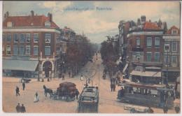 ROTTERDAM : JONKERFRANSSTRAAT - STRASSENBAHN - TRAMWAYS - 1910 - 2 SCANS - - Rotterdam
