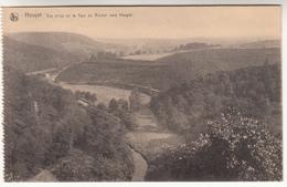 Houyet, Vue Prise De La Tour Du Rocher Vers Houyet (pl31417) - Houyet