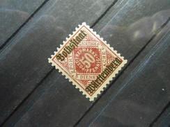 Altdeutschland Württemberg Mi 143b - 50Pf**MNH - D'lilarot 1919 - Mi Kat. € 15,00 - Wurttemberg