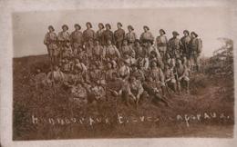 """Carte Photo """"Honneur Aux Elèves Caporaux"""" - (Militaires - Uniformes - Régiment) - Régiments"""