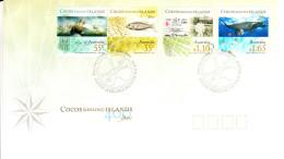 Cocos (Keeling) Islands 2009 FDC Scott #351-#353 Set Of 4 400 Years First European Sighting - Cocos (Keeling) Islands