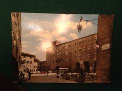 Cartolina Volterra  Piazza Dei Priori Palazzo Pretorio   Autobus  Via Dei Marchesi Viaggiata  1965 - Pisa