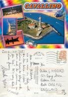 Lighthouse, Cavallino, VE Venezia, Italy Postcard Posted 2011 Stamp - Venezia (Venedig)