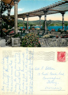 Bordighera, IM Imperia, Italy Postcard Posted 1956 Stamp - Imperia