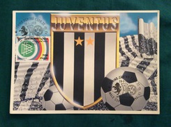Cartolina Allegorica Juventus Con Annullo Finale Coppa UEFA 1992-93 Juventus- Borussia Dortmund - Football