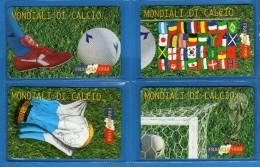 San.MARINO **(5) - Mondiali Di FRANCIA 98,  ( Mn ) NUOVE . 11/06/1998  .vedi Descrizione.