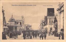 BELGIQUE - BRUXELLES : Avenue Des Nations à L'EXPOSITION UNIVERSELLE De 1910 (Belgium Belgien België ) - Expositions Universelles