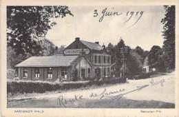 DEUTSCHLAND Allemagne - AACHEN Aix La Chapelle - Aachener Wald : Restaurant Pitz - Germany - Aachen