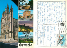 Orvieto, TR Terni, Italy Postcard Posted 1995 Stamp - Terni