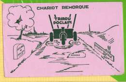 BUVARD & Blotting Paper : Chariot Remorque TRIROU POCLAIN  Le Plessis Belleville - Agriculture
