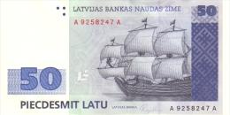 LATVIA P. 46 50 L 1992 UNC - Latvia
