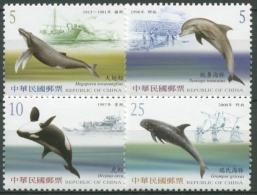 Taiwan 2002 Wale 2773/76 A Postfrisch