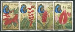 St. Lucia 1994 Weihnachten: Blumen 1020/23 Postfrisch - St.Lucia (1979-...)