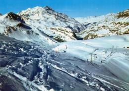 VAL D'ISERE (73 - SAvoie) Altitude 1850 M. La Sache, Le Mont Pourri, Le Barrage De Tignes Vus De Solaise - Val D'Isere