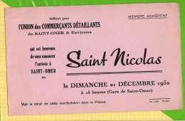 BUVARD & Blotting Paper : Arrivée De Saint NICOLAS  A SAINT OMER - Enfants