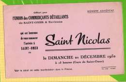 BUVARD & Blotting Paper : Arrivée De Saint NICOLAS  A SAINT OMER - Bambini