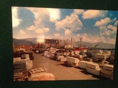 Cartolina Marina Di Carrara Il Porto  Marmi  Non Viaggiata - Carrara