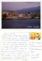Chania, Crete, Greece Postcard Posted 2000 Stamp - Grecia