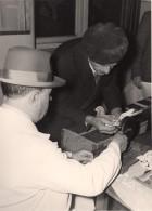 France Région Lilloise Bethune Club De Colombophilie Pigeons Voyageurs Ancienne Photo 1935 - Photographs