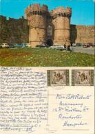 Gate, Rhodes, Greece Postcard Posted 1965 Stamp - Greece