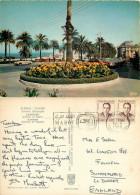 Avenue D'Espagne, Tanger, Morocco Postcard Posted 1968 Stamp - Tanger