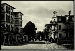 Seebad Ahlbeck  -  Seestrasse  -  Ansichtskarte Ca.1962  (6079) - Ueckermuende
