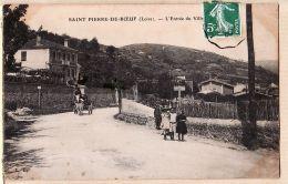 X69219 Peu Commun SAINT-PIERRE-DE-BOEUF St Rhône Entrée Du Village Animation Villageoise à ROGUET Rue Dogues Lyon-Vaise - Other Municipalities